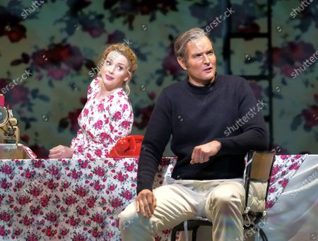 Stock Image of Sarah Tynan as Eurydice, Nicholas Lester as Orphee,