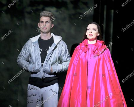 Stock Picture of Anthony Gregory as Cegeste, Jennifer France as Princess