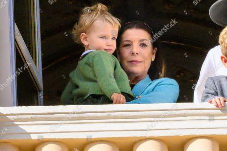 Princess Caroline of Hanover and Francesco Casiraghi
