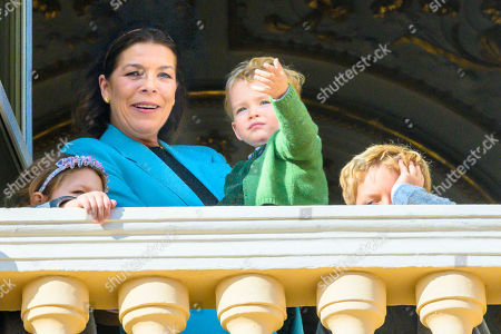 Princess Caroline of Hanover, India Casiraghi, Alexander Casiraghi and Francesco Casiraghi