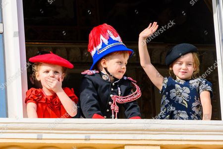 Princess Gabriella, Prince Jacques and Kaia Rose Wittstock