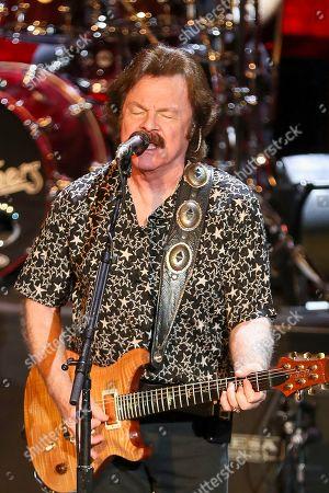 Tom Johnston of The Doobie Brothers performs at The Doobie Brothers at Ryman Auditorium, in Nashville, Tenn