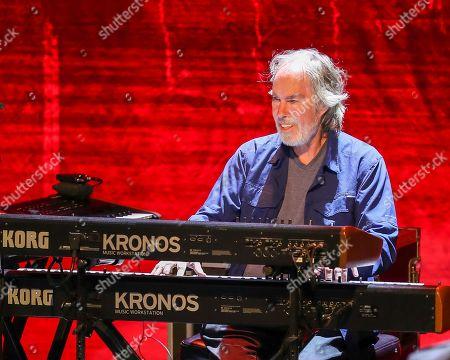 Bill Payne of The Doobie Brothers performs at The Doobie Brothers at Ryman Auditorium, in Nashville, Tenn