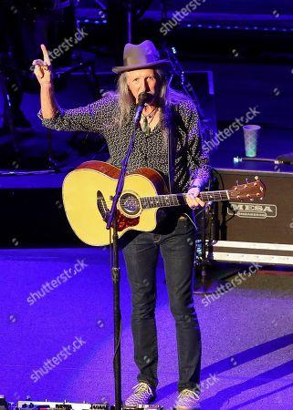 Stock Image of Patrick Simmons of The Doobie Brothers performs at The Doobie Brothers at Ryman Auditorium, in Nashville, Tenn