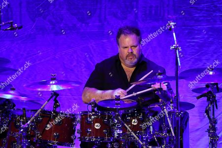 Ed Toth of The Doobie Brothers performs at The Doobie Brothers at Ryman Auditorium, in Nashville, Tenn