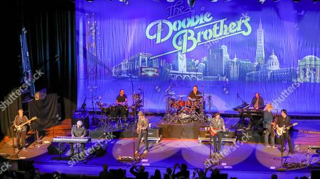 Michael McDonald, Doobie Brothers. Michael McDonald, second from left, on keyboards performs with the Doobie Brothers at The Doobie Brothers at Ryman Auditorium, in Nashville, Tenn