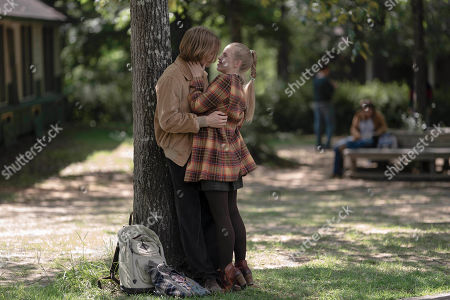 Stock Photo of Charlie Plummer as Miles Halter and Sofia Vassilieva as Lara Buterskaya
