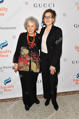 Margaret Atwood and Annabelle Gurwitch