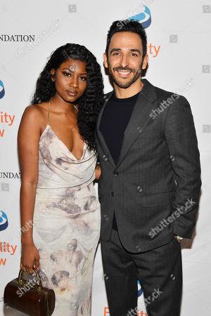 Amir Arison and Ornella Suad