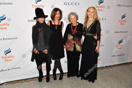 Linda Perry, Yasmeen Hassan, Margaret Atwood, and Lara Stein