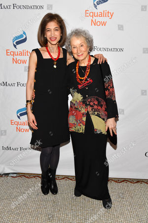 Yasmeen Hassan and Margaret Atwood
