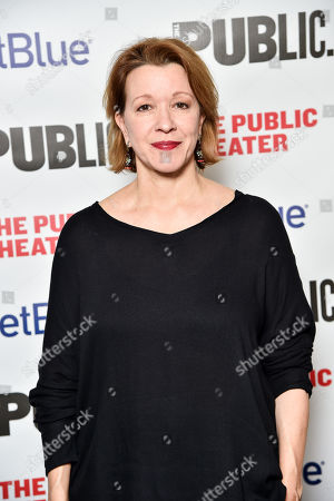 Editorial picture of 'A Bright Room Called Day' opening night celebration, Arrivals, The Public Theater, New York, USA - 19 Nov 2019