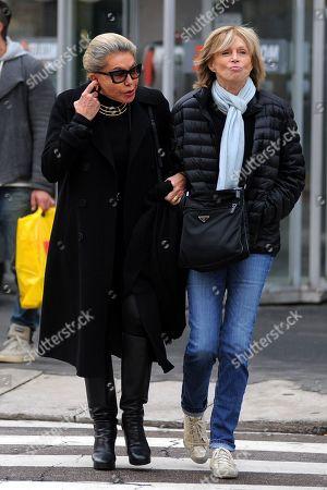 Stock Image of Princess Marina and friend