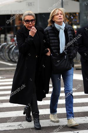 Editorial photo of Marina Doria out and about, Rome, Italy - 12 Nov 2019