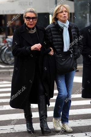 Editorial picture of Marina Doria out and about, Rome, Italy - 12 Nov 2019