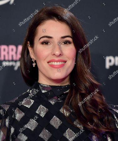 Stock Picture of Diana Del Bufalo arrives for the screening of 'Chiara Ferragni - Unposted' at the Auditorium della Conciliazione in Rome, Italy, 19 November 2019.