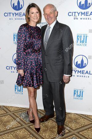 Stock Picture of Lizzie Tisch and Jonathan Tisch