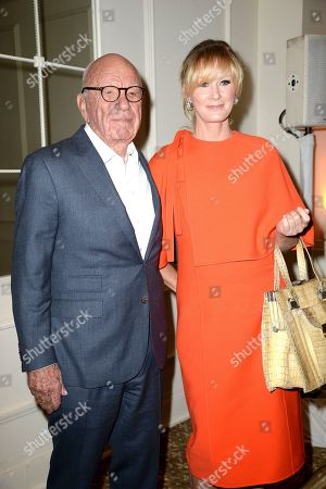 Rupert Murdoch and Sandra Lee