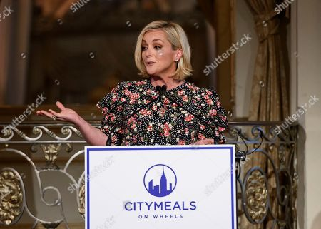 Jane Krakowski speaks at the Citymeals on Wheels 33rd annual Power Lunch for Women at The Plaza Hotel, in New York