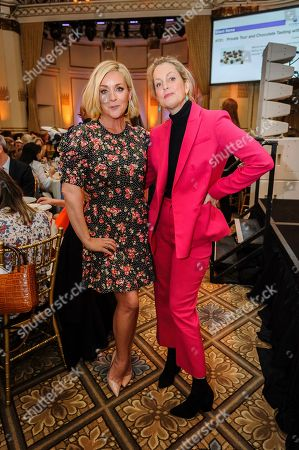 Stock Picture of Jane Krakowski, left, and Ali Wentworth attend the Citymeals on Wheels 33rd annual Power Lunch for Women at The Plaza Hotel, in New York