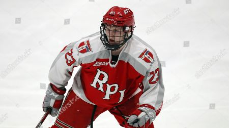 Editorial photo of Rensselaer Hockey, Princeton, USA - 15 Nov 2019