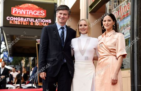 Editorial picture of Kristen Bell and Idina Menzel Honored with Stars on the Hollywood Walk of Fame, Los Angeles, USA - 19 Nov 2019