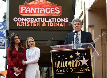 Editorial photo of Kristen Bell and Idina Menzel Honored with Stars on the Hollywood Walk of Fame, Los Angeles, USA - 19 Nov 2019