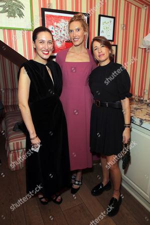 EXCLUSIVE - Emilia Wickstead, Djuna Bel-Rowe and Natalie Kingham
