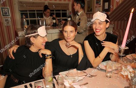 EXCLUSIVE - Natalie Kingham, Dree Hemingway and Emilia Wickstead