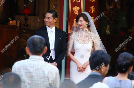 Ryohei Kurosawa and Lin Chi-ling