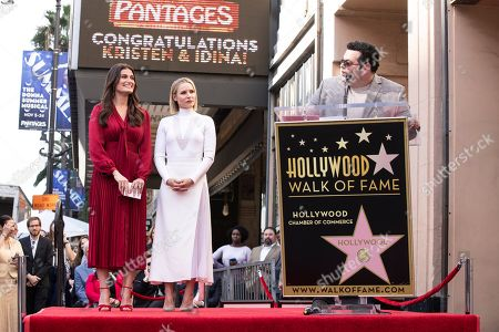 Editorial image of Kristen Bell and Idina Menzel honored with a star on the Hollywood Walk of Fame, USA - 19 Nov 2019