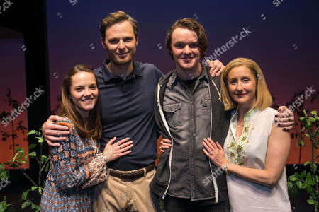 Editorial photo of 'Dear Evan Hansen' backstage, Press Night, London, UK - 19 Nov 2019