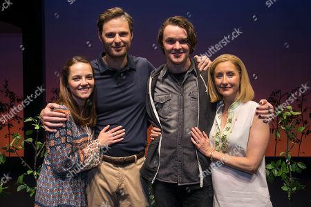 Editorial picture of 'Dear Evan Hansen' backstage, Press Night, London, UK - 19 Nov 2019
