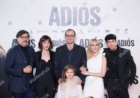 Mario Casas, Natalia de Molina, Ruth Diaz, Carlos Bardem and Paco Cabezas
