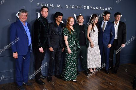 M Night Shyamalan, Lauren Ambrose, Rupert Grint, Nell Tiger Free, Toby Kebbell and guests