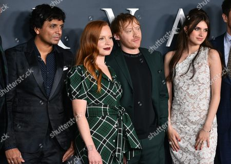 M Night Shyamalan, Lauren Ambrose, Rupert Grint and Nell Tiger Free