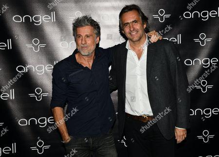Marc Simoncini and Emmanuel Chain