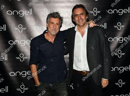 Stock Photo of Marc Simoncini and Emmanuel Chain