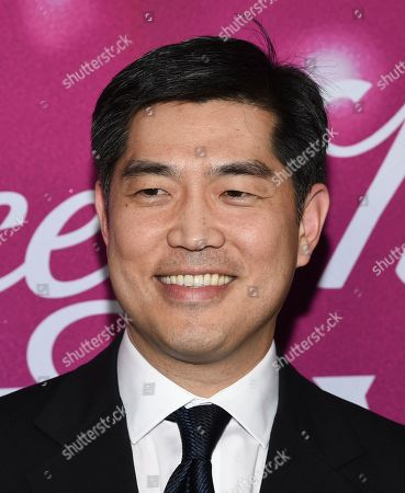 """Amazon Studios COO Albert Cheng attends the premiere of Amazon Prime Video's """"The Kacey Musgraves Christmas Show"""" at Metrograph, in New York"""