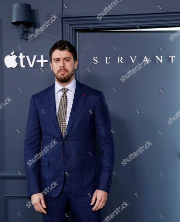 Toby Kebbell poses at the AppleTV+ global premiere event for the television show Servant at BAM Howard Gilman Opera House in New York, USA, 19 November 2019.