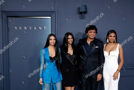 Editorial picture of Apple TV+ premieres television show 'Servant' in New York, USA - 19 Nov 2019
