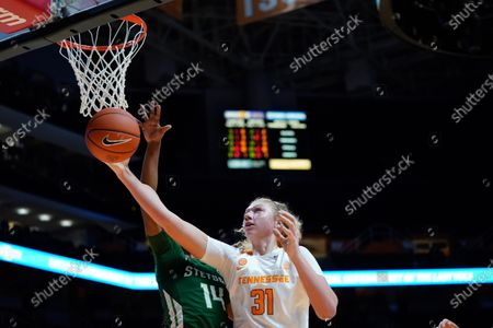 Editorial image of NCAA Basketball Stetson vs Tennessee, Knoxville, USA - 19 Nov 2019