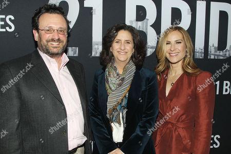Stock Photo of Adrian Alperovich, Gigi Pritzker and Rachel Shane
