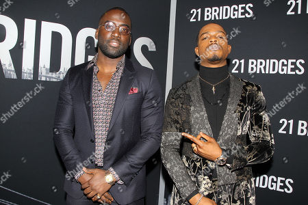 Stock Image of Shamier Anderson and Stephan James