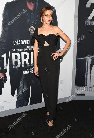 Editorial picture of '21 Bridges' film screening, Arrivals, AMC Lincoln Square 13, New York, USA - 19 Nov 2019