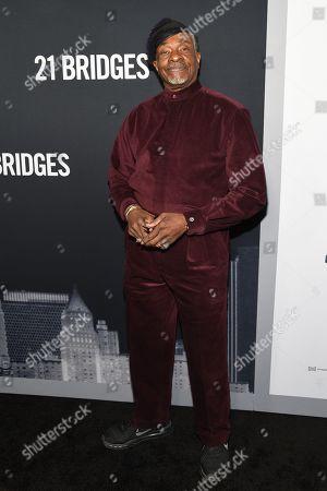 Editorial image of '21 Bridges' film screening, Arrivals, AMC Lincoln Square 13, New York, USA - 19 Nov 2019