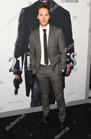 Editorial photo of '21 Bridges' film screening, Arrivals, AMC Lincoln Square 13, New York, USA - 19 Nov 2019
