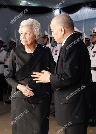 Editorial photo of Cambodian princess Norodom Buppha Devi dies aged 76, Phnom Penh, Cambodia - 20 Nov 2019