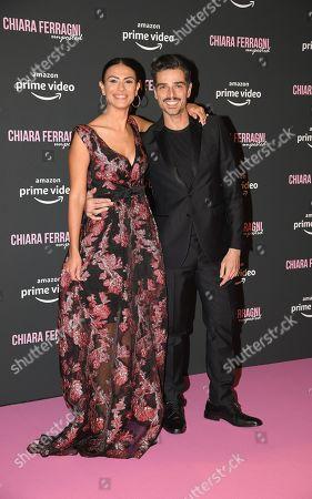 Stock Photo of Valentina Melis and Massimiliano Varrese