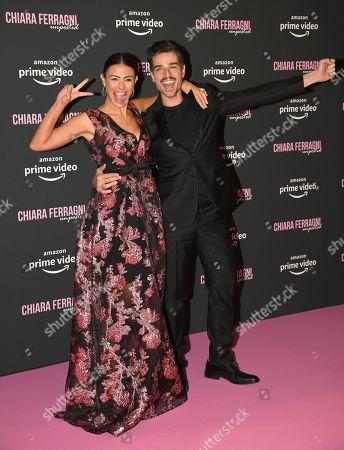 Editorial image of 'Chiara Ferragni Unposted' film premiere, Auditorium Conciliazione, Rome, Italy - 19 Nov 2019